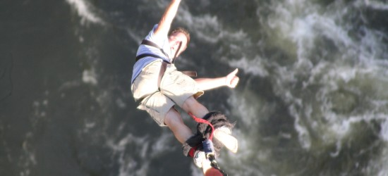 Bungee at Victoria Falls